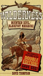 Cover of: Mountain Devil/Blackfoot Massacre | David Thompson
