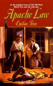 Cover of: Outlaw town | Luke Adams