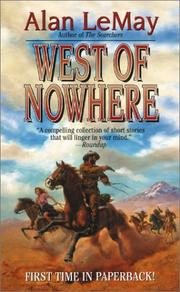 Cover of: West of Nowhere | Alan LeMay