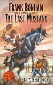 Cover of: The Last Mustang | Frank Bonham