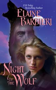 Cover of: Night of the Wolf | Elaine Barbieri