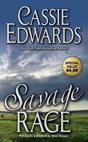 Cover of: Savage Rage (Savage) | Cassie Edwards