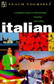 Cover of: Teach Yourself Italian Complete Course | Maurice Elston
