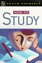 Cover of: How to Study | Paul Oliver