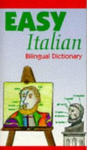 Cover of: Easy Italian Bilingual Dictionary |