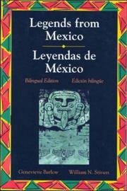 Cover of: Leyendas mexicanas: a collection of Mexican legends