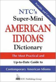 NTCs super-mini American idioms dictionary