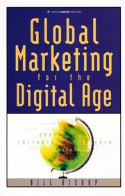Cover of: Global Marketing for the Digital Age