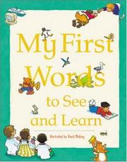 Cover of: My first words to see and learn