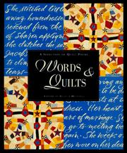 Cover of: Words & quilts |