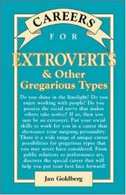 Cover of: Careers for Extroverts & Other Gregarious Types