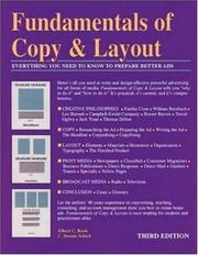 Fundamentals of copy & layout by Albert C. Book