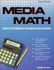 Cover of: Media math | Hall, Robert W.