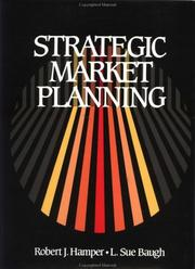 Cover of: Strategic market planning