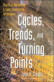 Cover of: Cycles, trends, and turning points | John V. Crosby