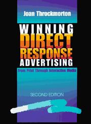 Cover of: Winning direct response advertising