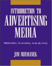 Cover of: Introduction to Advertising Media