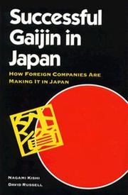 Cover of: Successful gaijin in Japan