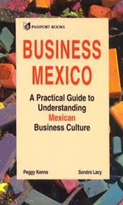 Cover of: Business Mexico