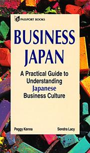 Cover of: Business Japan