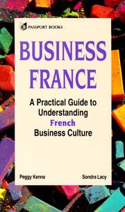 Cover of: Business France