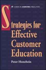 Cover of: Strategies for effective customer education