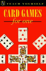 Cover of: Card games for one