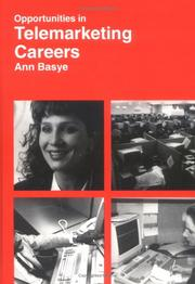 Cover of: Opportunities in Telemarketing Careers