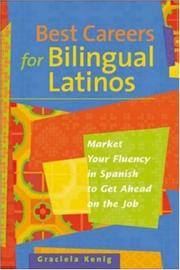 Cover of: Best careers for bilingual Latinos