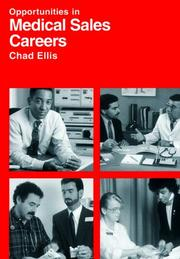Cover of: Opportunities in medical sales careers