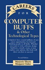 Cover of: Careers for computer buffs & other technological types | Marjorie Eberts