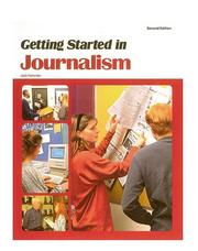 Cover of: Getting started in journalism
