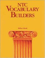 Cover of: NTC vocabulary builders |