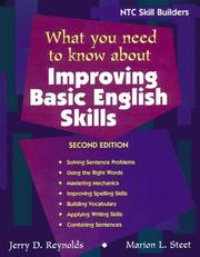 Cover of: What You Need to Know About Improving Basic English Skills | McGraw-Hill