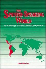 Cover of: The Spanish-speaking world |