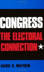 Cover of: Congress | David R. Mayhew