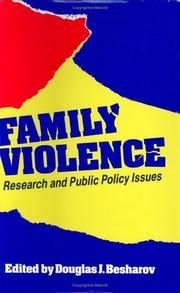 Cover of: Family violence |