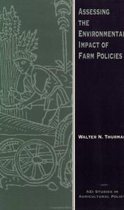 Cover of: Assessing the environmental impact of farm policies