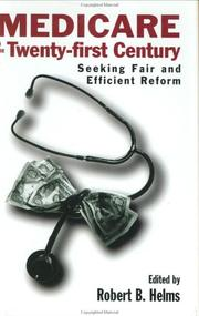 Cover of: Medicare in the 21st Century