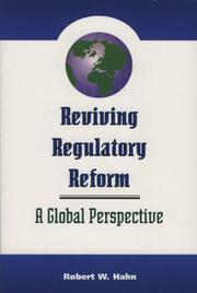 Cover of: Reviving Regulatory Reform | Robert W. Hahn