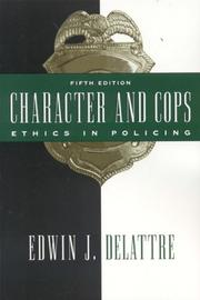 Cover of: Character and Cops