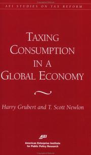 Cover of: Taxing consumption in a global economy