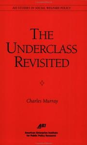 Cover of: The underclass revisited