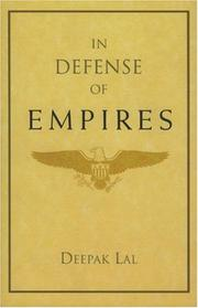 Cover of: In Defense of Empires (Henry Wendt Lecture)