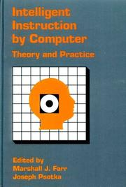 Cover of: Intelligent Instruction  Computer | Marshall Farr