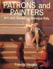 Patrons and painters by Francis Haskell
