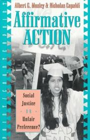 Cover of: Affirmative action