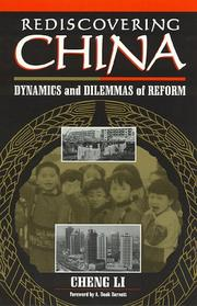 Cover of: Rediscovering China
