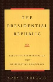 Cover of: The presidential republic