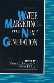 Cover of: Water Marketing